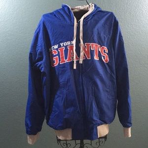 Other - New York Giants Reversible Zip Up Thermal Jacket
